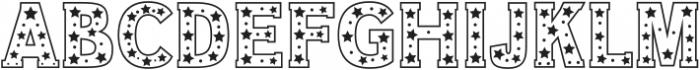 Star Slab Regular otf (400) Font LOWERCASE