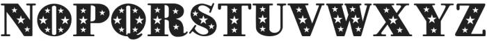 Star Studded otf (400) Font UPPERCASE