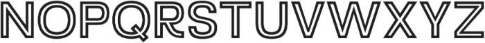 Starch Inline otf (400) Font UPPERCASE