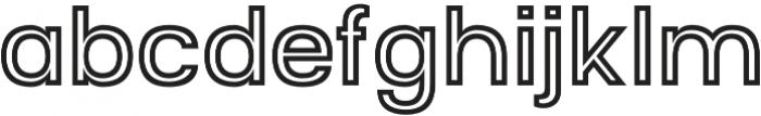Starch Inline otf (400) Font LOWERCASE