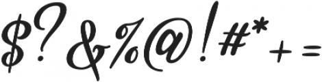 Stardust Script otf (400) Font OTHER CHARS
