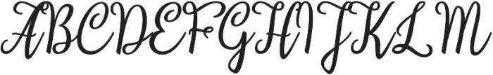 Stardust Script otf (400) Font UPPERCASE