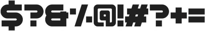 Stargaze Stencil otf (400) Font OTHER CHARS