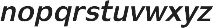 Stark bold-italic otf (700) Font UPPERCASE
