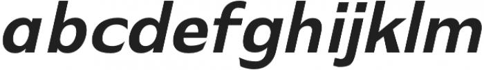 Stark extra-bold-italic otf (700) Font LOWERCASE