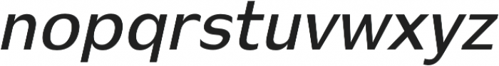 Stark semi-bold-italic otf (600) Font UPPERCASE
