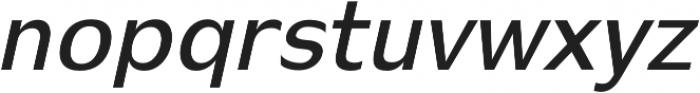 Stark semi-bold-italic otf (600) Font LOWERCASE