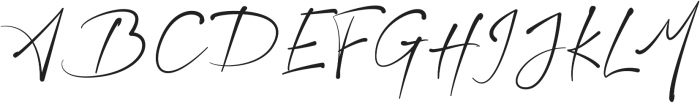 Starlet Regular otf (400) Font UPPERCASE