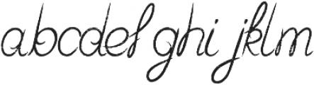 Starlight Aged otf (300) Font LOWERCASE