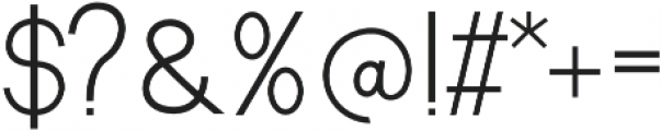 Starline Sans otf (400) Font OTHER CHARS