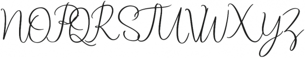 Starline otf (400) Font UPPERCASE