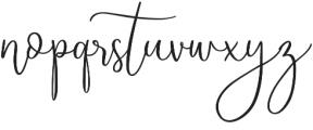 Starline otf (400) Font LOWERCASE