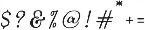 Starlive Script ttf (400) Font OTHER CHARS