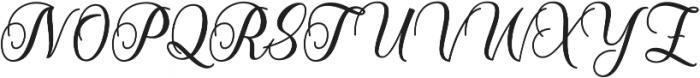 Starlive Script ttf (400) Font UPPERCASE