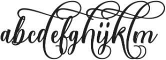 Starlive Script ttf (400) Font LOWERCASE