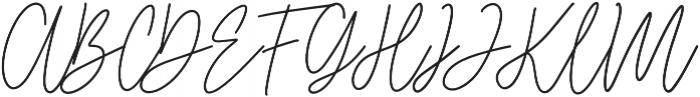 Starlose otf (400) Font UPPERCASE