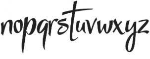 StarmiX otf (400) Font LOWERCASE