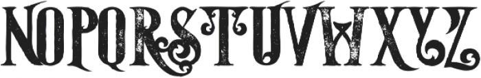 Starship Bold Grunge otf (700) Font UPPERCASE