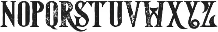Starship Bold Grunge otf (700) Font LOWERCASE