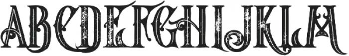 Starship Bold Inline Grunge otf (700) Font UPPERCASE