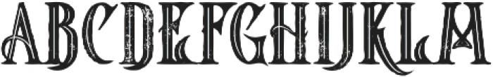 Starship Bold Inline Grunge otf (700) Font LOWERCASE