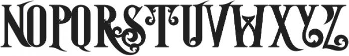 Starship Bold otf (700) Font UPPERCASE