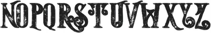 Starship Shadow Grunge otf (400) Font UPPERCASE