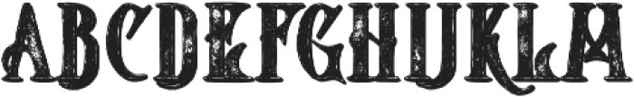 Starship Shadow Grunge otf (400) Font LOWERCASE
