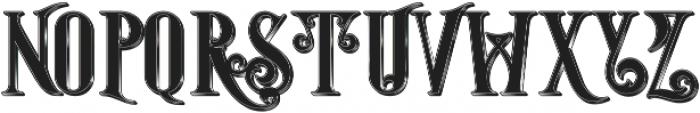 Starship Shadow otf (400) Font UPPERCASE