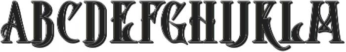 Starship Shadow otf (400) Font LOWERCASE