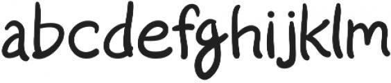 Start Living otf (400) Font LOWERCASE