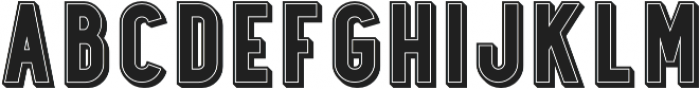 Station No.6 otf (400) Font UPPERCASE