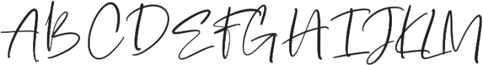 Stay Bright Script otf (400) Font UPPERCASE