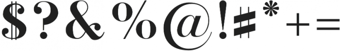 Stay Bright Serif otf (400) Font OTHER CHARS