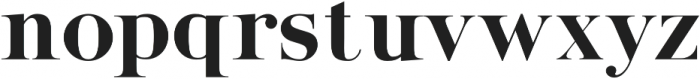 Stay Bright Serif otf (400) Font LOWERCASE