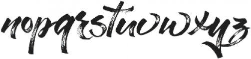 Stay Chill otf (400) Font LOWERCASE