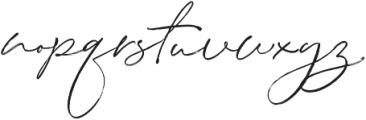 Stay Classy Duo Script Brush otf (400) Font LOWERCASE