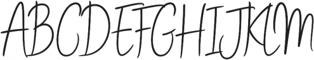 Stay Classy Stylish ExtraBold otf (700) Font UPPERCASE