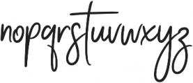 Stay Classy Stylish ExtraBold otf (700) Font LOWERCASE