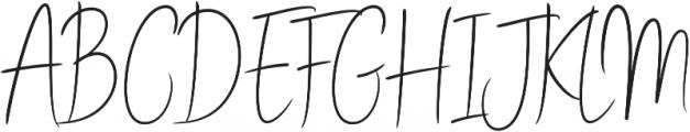 Stay Classy Stylish otf (400) Font UPPERCASE