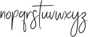 Stay Classy Stylish otf (400) Font LOWERCASE