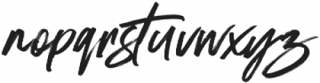 Stay Dreaming Alt Regular ttf (400) Font LOWERCASE