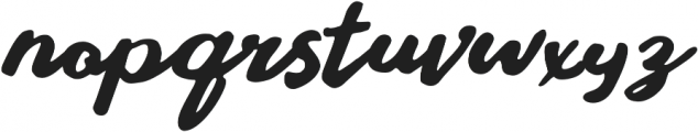 Stay Young Font otf (400) Font LOWERCASE