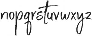 Steadfast Alt otf (400) Font LOWERCASE