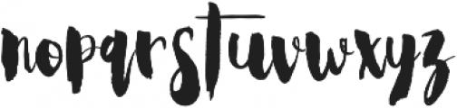 Steady Bonanza Script otf (400) Font LOWERCASE