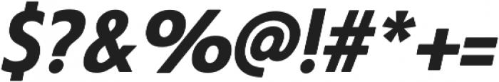Steagal Bold Italic otf (700) Font OTHER CHARS