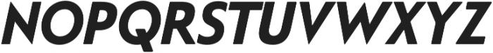 Steagal Bold Italic otf (700) Font UPPERCASE