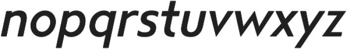 Steagal Medium Italic otf (500) Font LOWERCASE