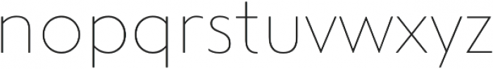 Steagal Thin otf (100) Font LOWERCASE