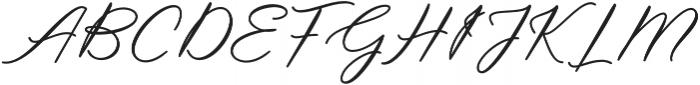 Steakfull Script Regular otf (400) Font UPPERCASE